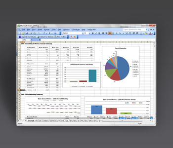 Analytics, 3D Excel